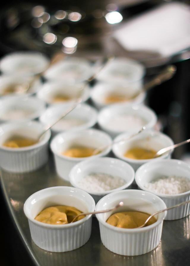 Dijon mustard at La bourse et la vie paris bistro