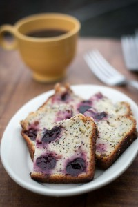 Cherry Yogurt Poppy Seed Cake recipe