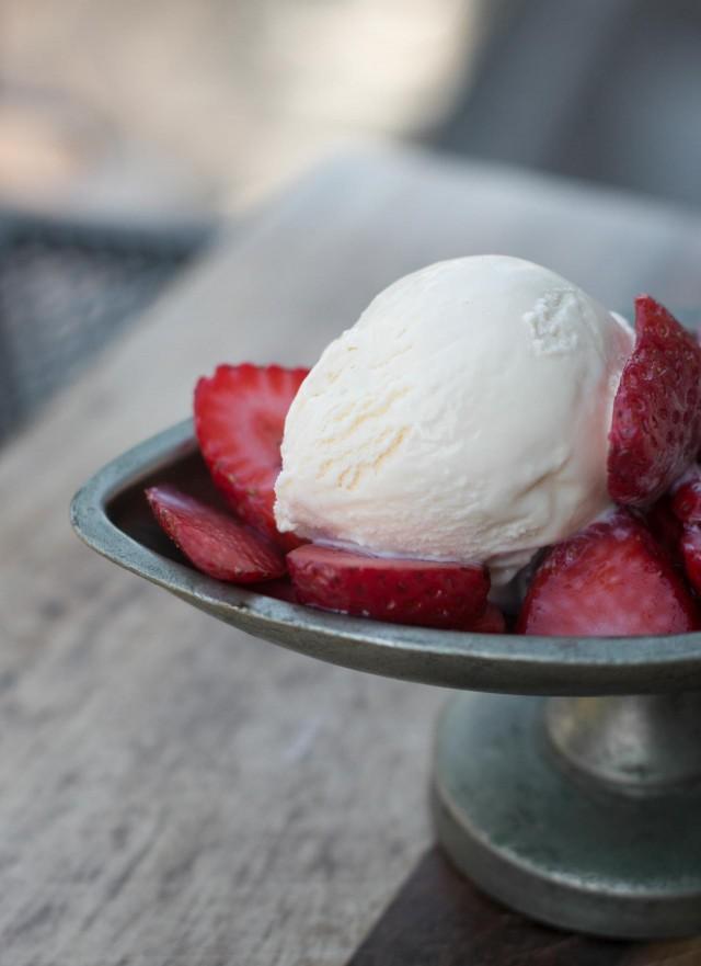 Chestnut honey ice cream recipe