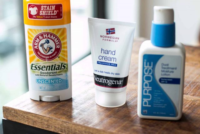 unscented products