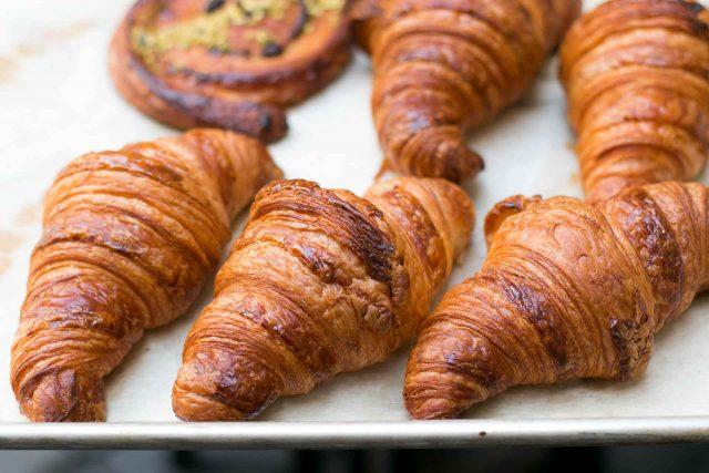Croissants at New York Bakery