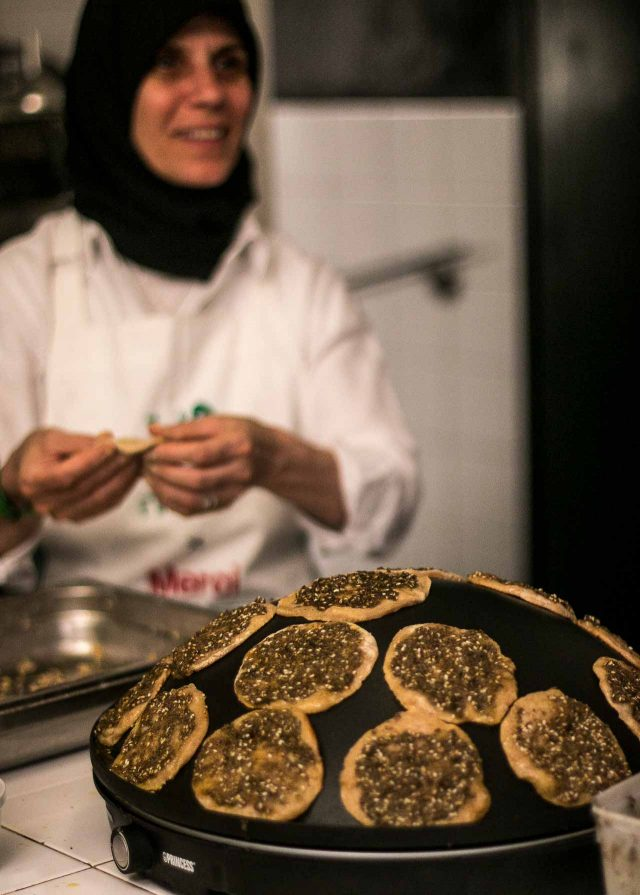 Tawlet Souk el tayeb Lebanese food paris