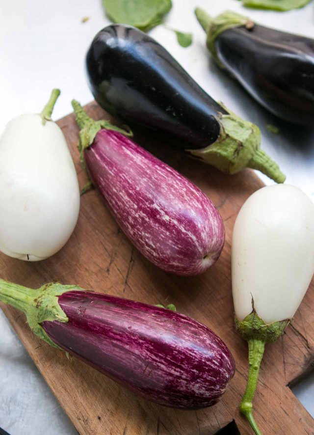 Eggplant for Caponata recipe
