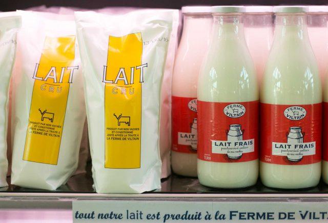 La Ferme de Viltain raw milk
