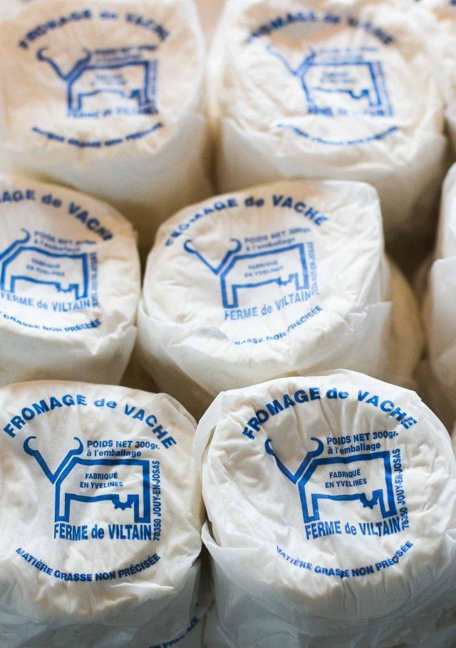 La Ferme de Viltain fresh cheese