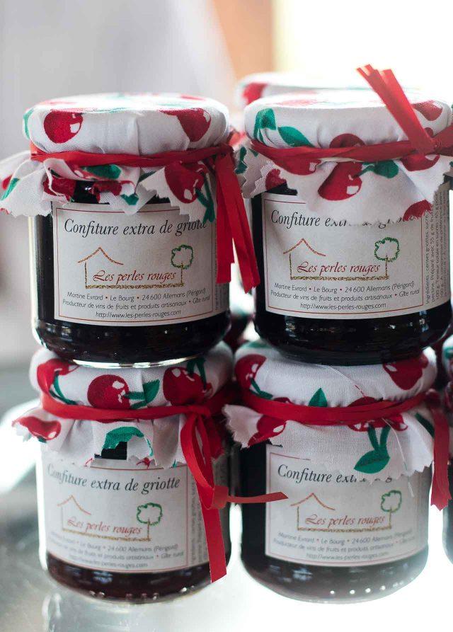 La Ferme de Viltain sour cherry jam