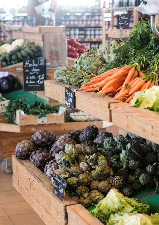 La Ferme de Viltain fruits and vegetables