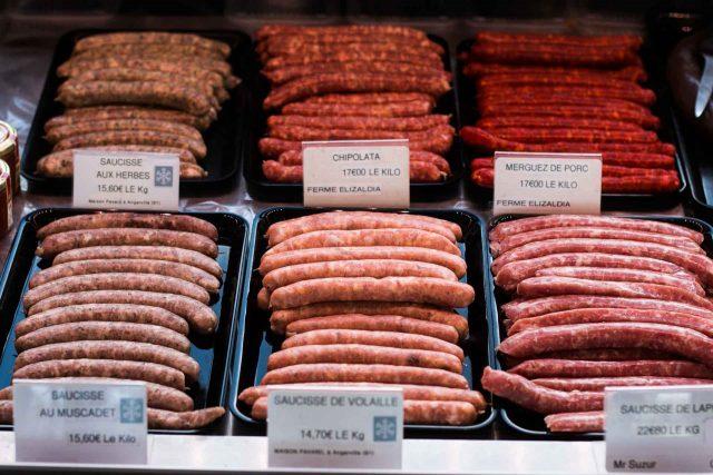 La Ferme de Viltain sausages
