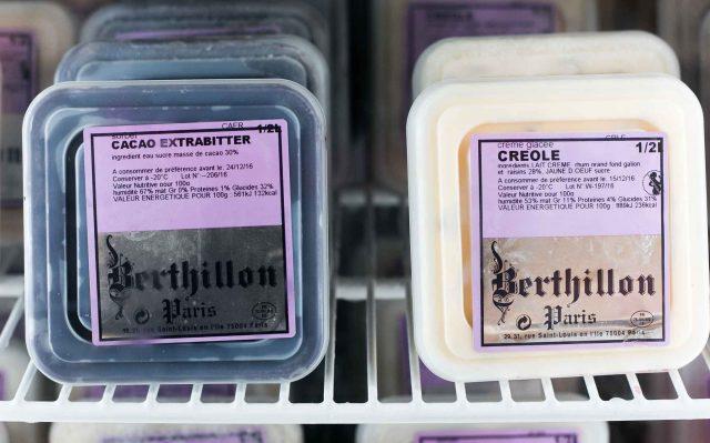 La Ferme de Viltain Berthillion ice cream