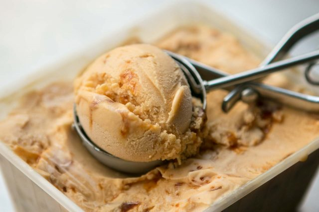 Salted butter caramel ice cream recipe