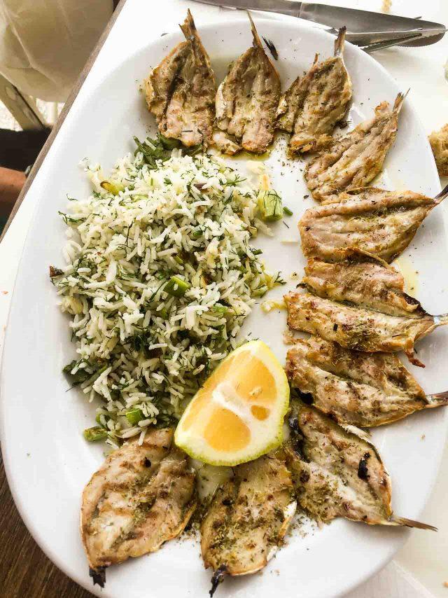 Sardines on Tinos