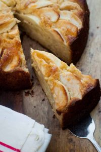 German Apple Almond Cake recipe