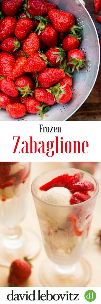 Frozen zabaglione recipe