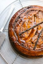Banana upside down cake recipe