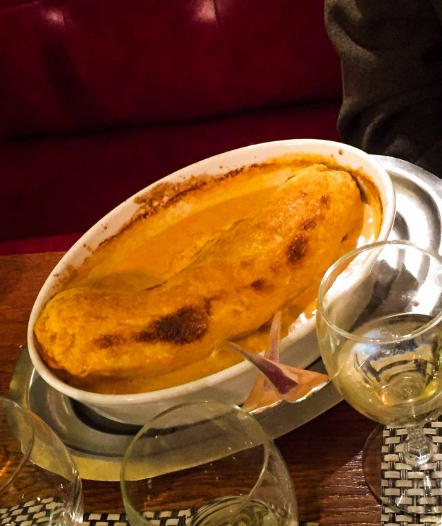 Quenelle at Moissonnier Paris restaurant