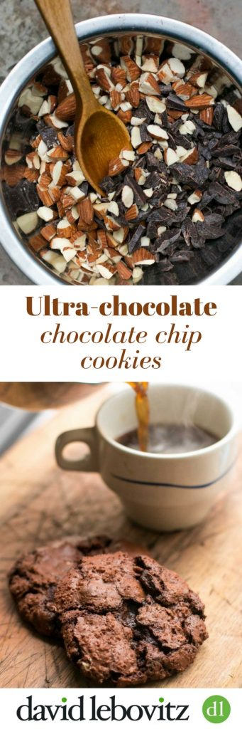 Ultra-delicious Chocolate Chocolate-Chip Cookie recipe packed with chocolate