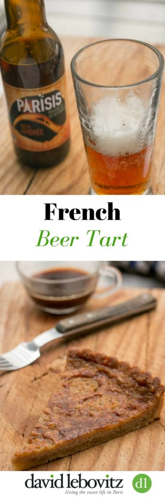 A regional French pastry, Beer Tart (Tarte à la bière) is a recipe made with beer and brown sugar. A home-style dessert from the North of France.