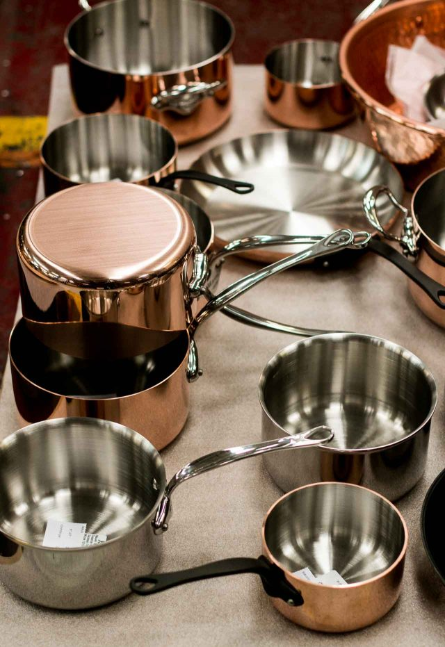 A Visit to the Mauviel Copper Cookware Factory